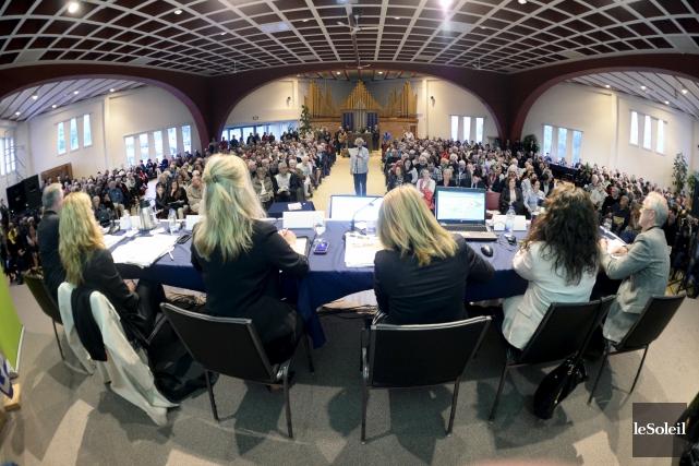 Consultation publique sur le PPU de la Ville... (Le Soleil, Jean-Marie Villeneuve)