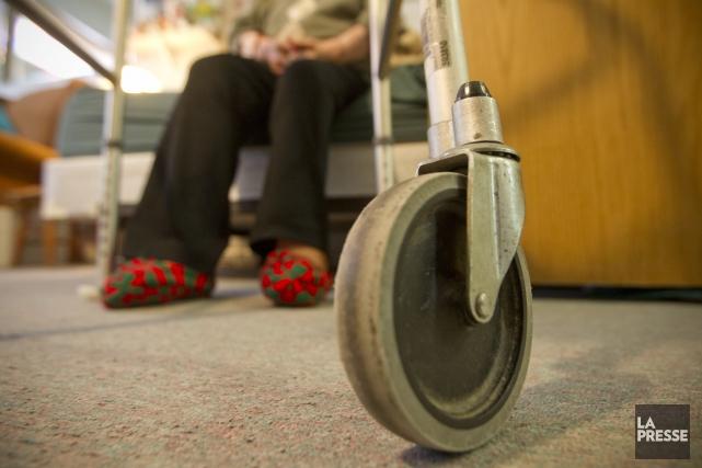 Dans notre province, seulement 3 % de nos aînés sont considérés comme étant en... (Photothèque La Presse)