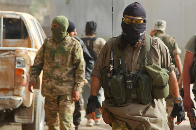 Après une série de revers face aux djihadistes... (PHOTO AMMAR ABDULLAH, REUTERS)
