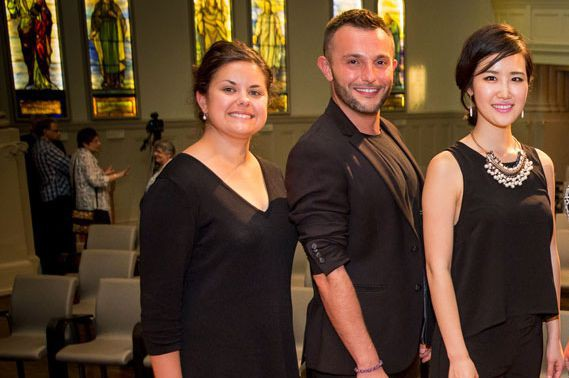 Anaïs Constans, soprano (France), Vasil Garvanliev, baryton (Macédoine)... (PHOTO ANTOINE SAITO/CMIM)