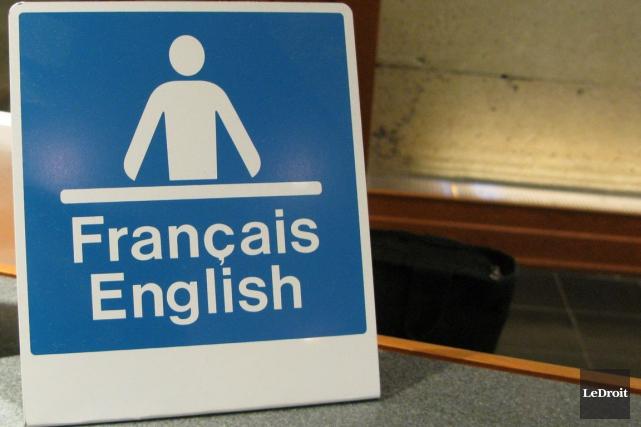 L'organisme Impératif français trouve «insultant» pour tous les francophones... (Patrick Woodbury, Archives LeDroit)