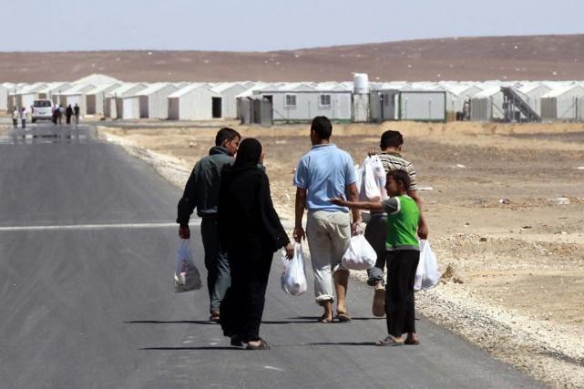 «Les autorités jordaniennes ont fortement limité» depuis fin... (PHOTO AFP)