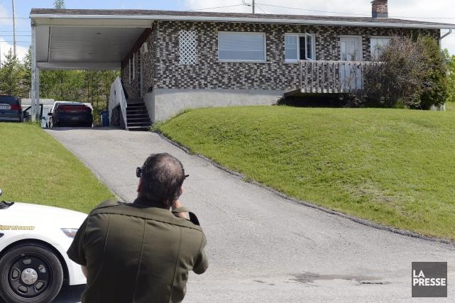 Les policiers de la Sûreté du Québec ont procédé à l'arrestation de trois... (Jeannot Lévesque)