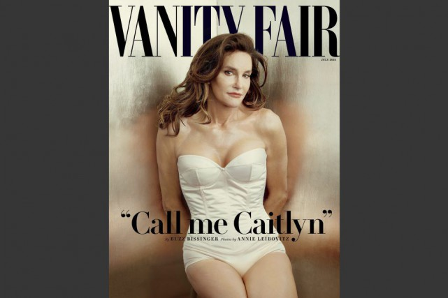 Caitlyn Jenner dans Vanity Fair.... (PHOTO AP)