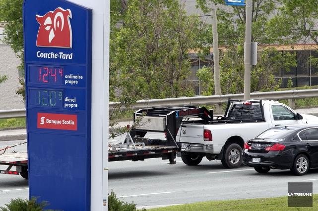 Le prix de l'essence avait augmenté de façon... (Imacom, Frédéric Côté)