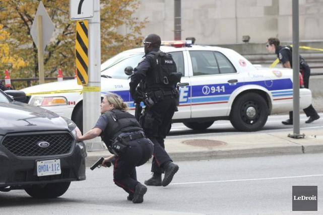 La Police provinciale de l'Ontario (OPP) fait, dans... (Etienne Ranger, Archives LeDroit)