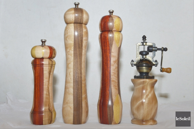 Depuis cet hiver, l'artisan autodidacte Marc Paquet s'est... (Le Soleil, Jean-Marie Villeneuve)