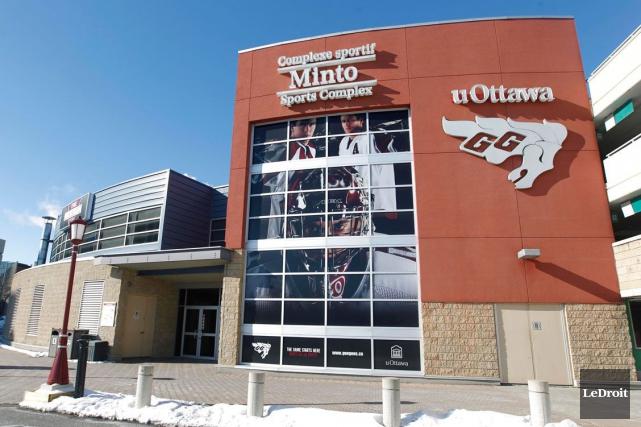 Le programme de hockey masculin des Gee-Gees sera... (Simon Séguin-Bertrand, Archives LeDroit)