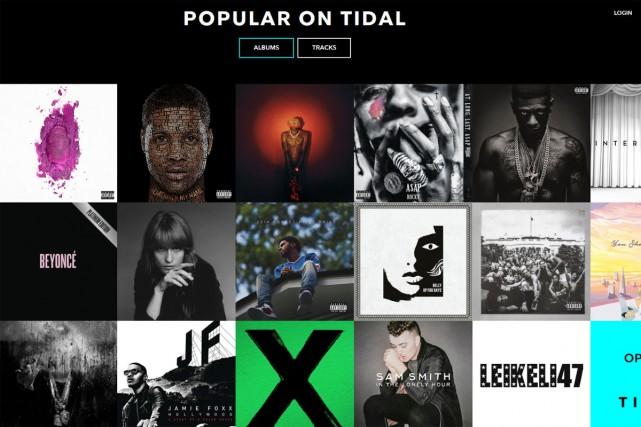 Tidal, le service de musique en streaming entièrement payant lancé par...