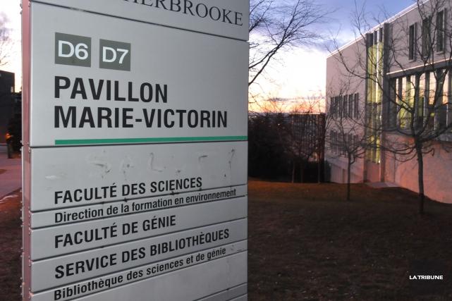 Le Département de physique de la Faculté des sciences, de l'Université de... (Archives La Tribune)