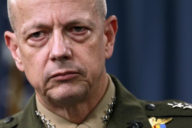 Le général John Allen.... (Archives AP)