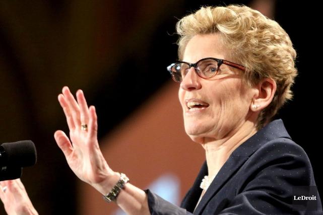 La pression s'annonce forte sur la première ministre... (Patrick Woodbury, Archives LeDroit)