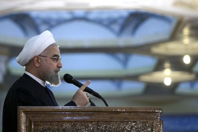 Hassan Rohania souligné qu'il était parvenu au pouvoir... (Photo: AFP)