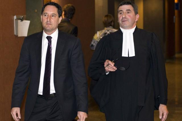 L'ex-maire par intérim de Montréal, Michael Applebaum, et... (Photo Photo Ryan Remiorz, La Presse canadienne)