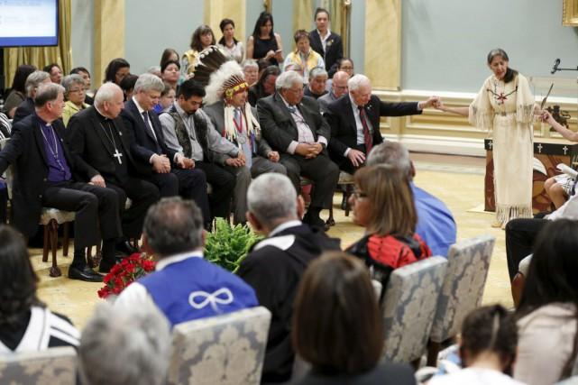 Si les Canadiens veulent voir des gestes concrets... (Photo Blair Gable, Reuters)