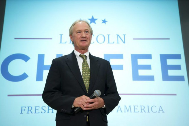 Lincoln Chafee... (Photo: AP)
