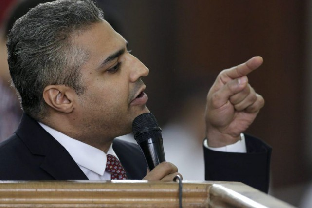 Mohamed Fahmy... (PHOTO AMR NABIL, ASSOCIATED PRESS)