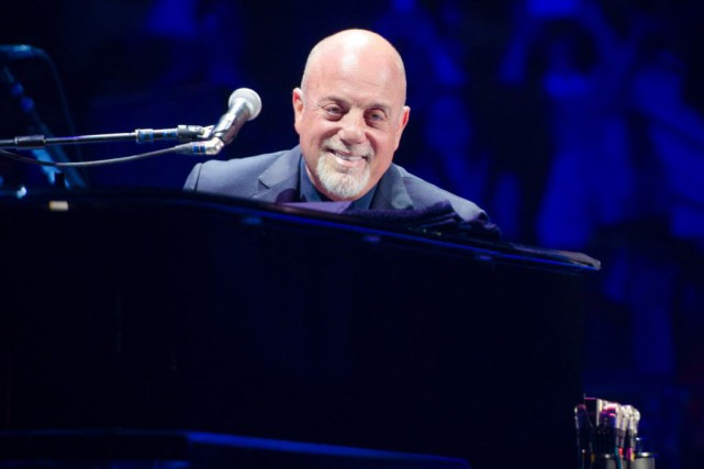Billy Joel donne un spectacle par mois au... (PHOTO ARCHIVES AP)