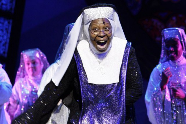La comédie musicale Sister Act a également été... (Photo Joel Ryan, archives AP)