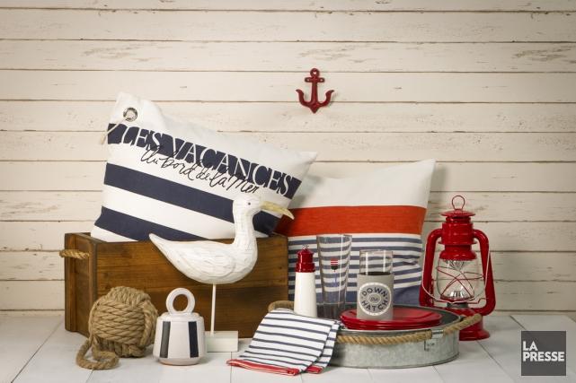 L'esprit nautique est dans l'air. Laissez souffler la brise bleu, blanc, rouge... (PHOTO OLIVIER PONTBRIAND, LA PRESSE)
