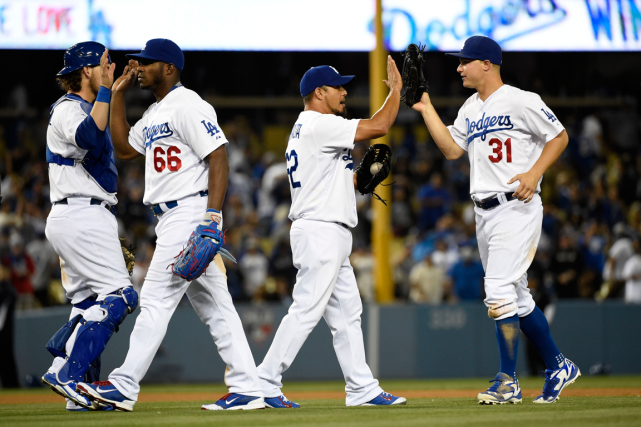 Les Dodgers de Los Angeles attirent en moyenne 46... (Photo Richard Mackson, USA Today)