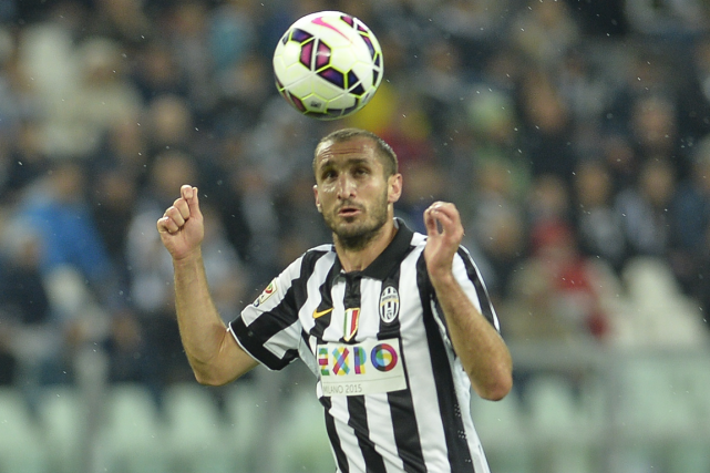 Giorgio Chiellini... (Photo Andreas Solaro, AFP)