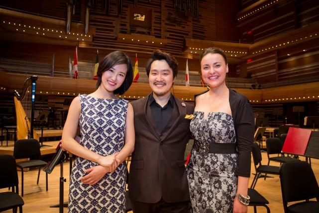 Les lauréats du 14e Concours musical international de... (PHOTOANTOINE SAITO, FOURNIE PAR LE CMIM)