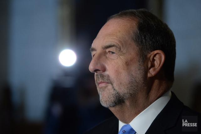 Denis Lebel, député de Roberval-Lac-Saint-Jean et ministre de... (Archives La Presse)