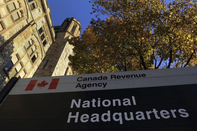 Le quartier général del'Agence du revenu du Canada... (Archives, La Presse Canadienne)