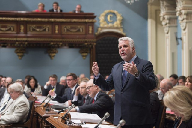 Philippe Couillard... (PHOTO JACQUES BOISSINOT, ARCHIVES LA PRESSE CANADIENNE)