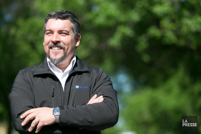 Luis Ruivo, président et fondateur de CAM Solutions.... (PHOTO FRANCOIS ROY, LA PRESSE)