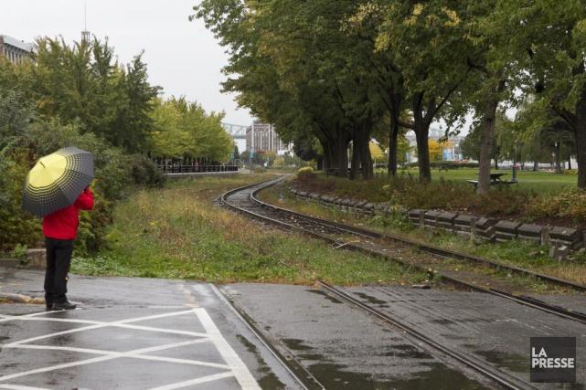 La Loi sur la sécurité ferroviaire stipule qu'il... (PHOTO HUGO-SÉBASTIEN AUBERT, archives LA PRESSE)