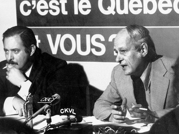 Jacques Parizeau a été ministre des Finances dans... (Photo Robert Nadon, archives La Presse)
