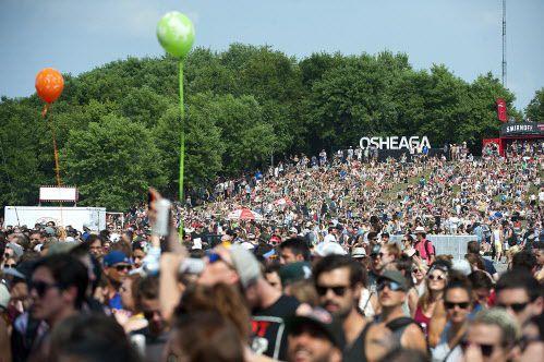 Le festival Osheaga fait partie des activités festives... (PHOTO CATHERINE LEFEBVRE, COLLABORATION SPECIALE)