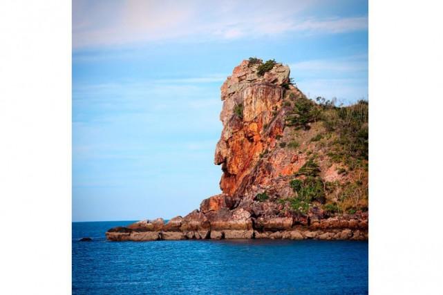 Félicitations à @f_rouault, dont le visage rocheux aperçu dans les îles du... (@f_rouault)