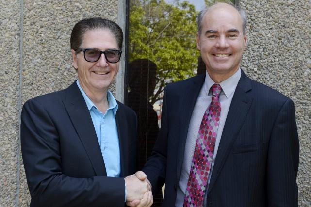 Luc Vandal, futur président exécutif et actionnaire de...