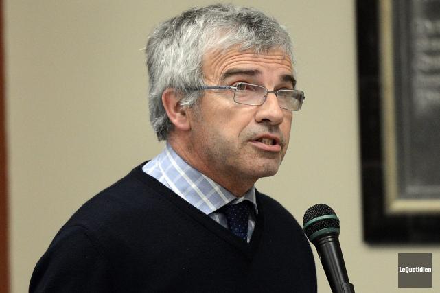 Selon le producteur Michel Potvin, le ministre commence... (Archives Le Quotidien, Jeannot Lévesque)