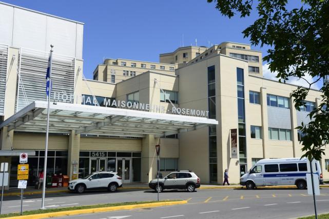 L'hôpital Maisonneuve-Rosemont à Montréal, qui a effectué 2708... (PHOTO PAUL CHIASSON, ARCHIVES LA PRESSE CANADIENNE)