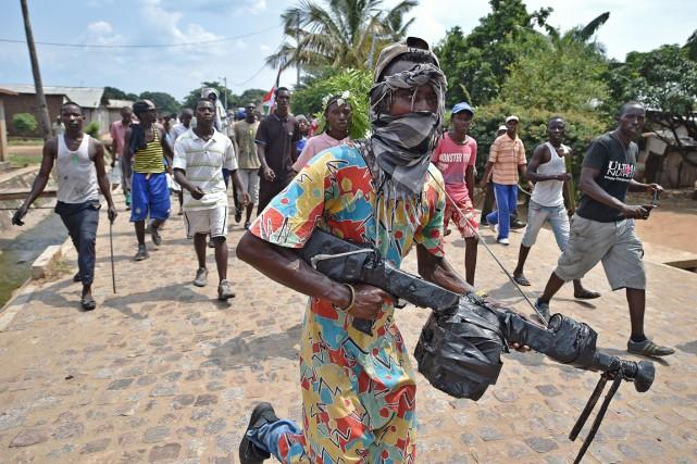 Depuis l'annonce de la candidature du président burundais... (PHOTO AGENCE FRANCE-PRESSE)