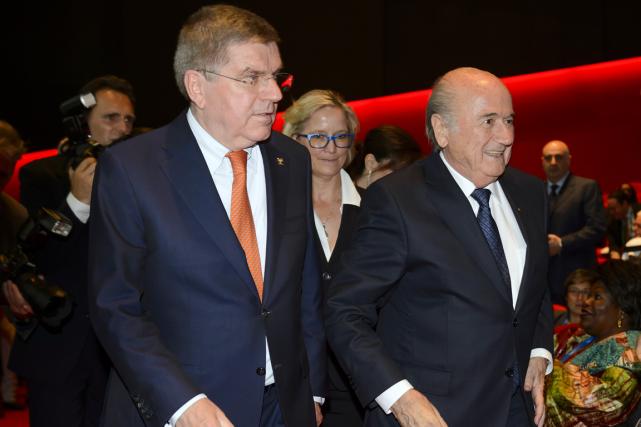 Le président sortant de la FIFA, Sepp Blatter... (Photo Fabrice Coffrini, AFP)