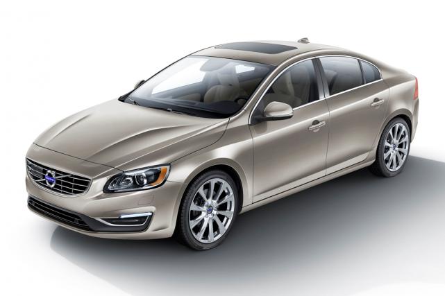 Volvo expédie en ce moment des Volvo S60... (Photo fournie par Volvo Cars)