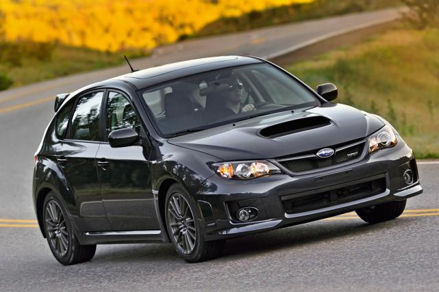 La Subaru Impreza WRX... (Photo fournie par le constructeur)