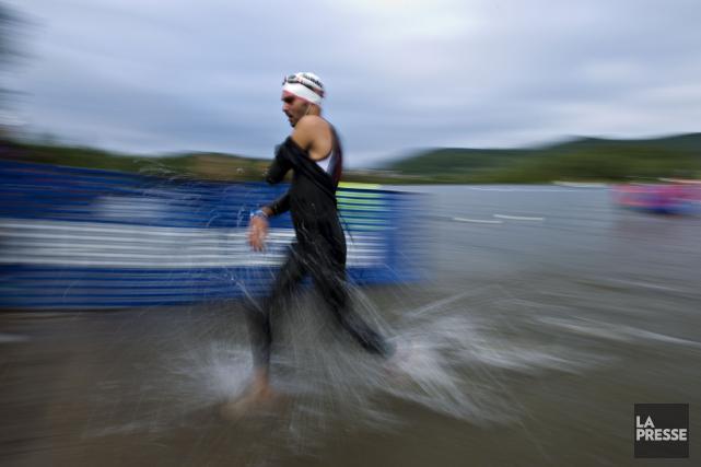 Le Grand Défi de Victoriaville a des idées de grandeur pour son triathlon et a... (Archives La Presse)