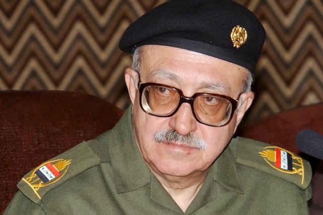 L'ancien ministre irakien des Affaires étrangères Tarek Aziz.... (PHOTO SAMIR MEZBAN, ARCHIVES REUTERS)