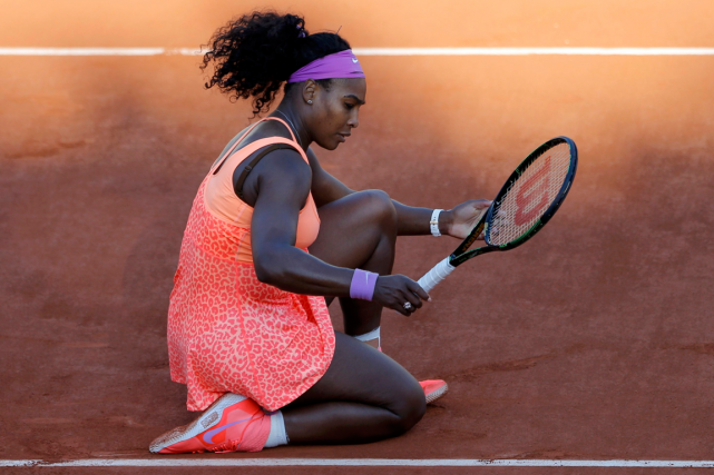 Serena Williams... (Photo Vincent Kessler, Reuters)