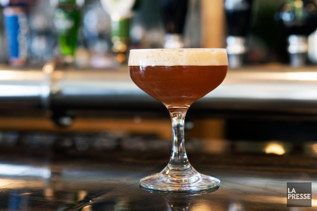 Le barman du Lavanderia, Andrew Whibley, a remporté... (Photo Robert Skinner, La Presse)