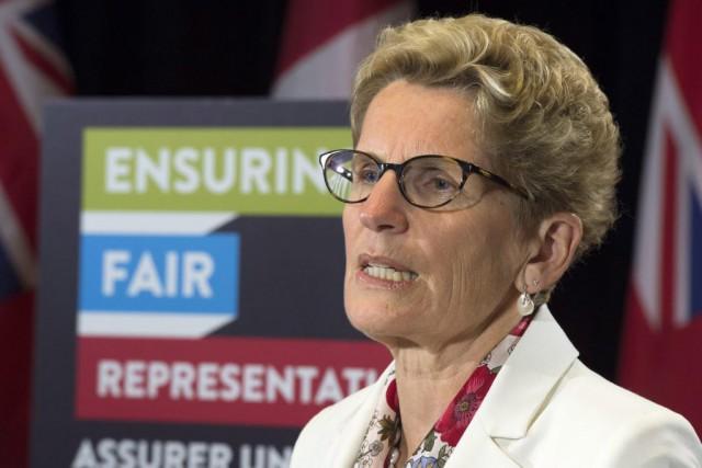 Les changements aux circonscriptions ontariennes visent à suivre... (Frank Gunn, La Presse Canadienne)