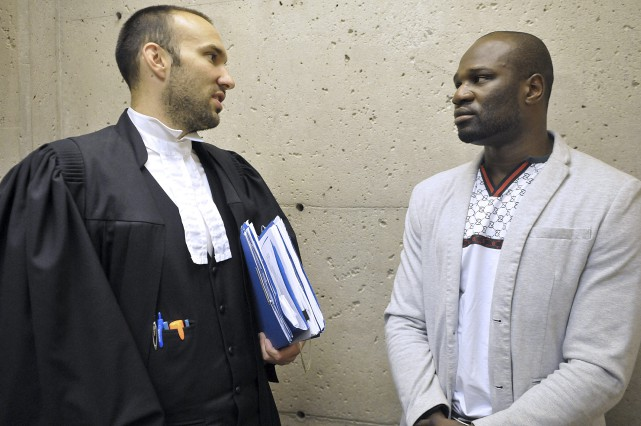 Le boxeur professionnel de Chicoutimi, Francy Ntetu obtient une troisième... (Rocket Lavoie)