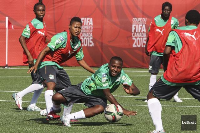 La Côte d'Ivoire a obtenu son billet pour... (Patrick Woodbury, LeDroit)