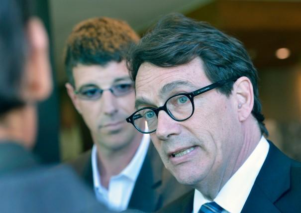 «Si Pierre Karl Péladeau est chef de l'opposition... (PHOTO JEAN-MARIE VILLENEUVE, LE SOLEIL)